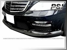CS Style Carbon Fiber Front Lip for 10-13 Benz W221 S63 S65 AMG Facelift