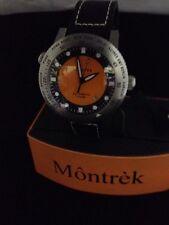 Montrek Watch New Automatic M31.3131 Black Steel Orange
