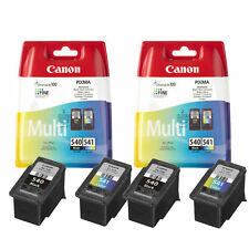 2x Genuine Canon PG540 Black CL541 Colour Ink Cartridge For PIXMA MG4250 Printer
