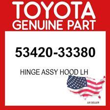 TOYOTA GENUINE OEM 53420-33380 HINGE ASSY HOOD LH 5342033380(Fits: Lexus)
