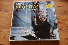 BERLIOZ Requiem CHARLES MUNCH Peter Schreier 2  LP box DGG 104969/70 tulips