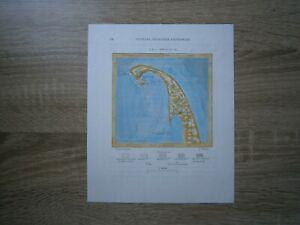 1892 Perron map OUTER CAPE COD, MASSACHUSETTS (#23)