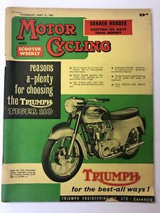 Motor Cycling with scooter weekly 1961