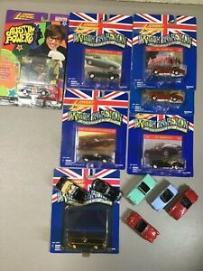 Johnny Lightning British Invasion Lot of 13 Carded and Loose Cars