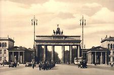 BERLIN Brandenburger Tor * Großes Vintage Foto vom Olympia-Jahr 1936