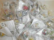 10 x Flummi an Schnur - Mitgebsel für Kindergeburtstag Springball Hüpfball