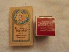 2 Avon Perfumes Heres My Heart Cologne And California Perfume