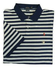 Polo Ralph Lauren Pony Soft Touch Interlock Stripe Classic Fit Montauk Shirt XXL