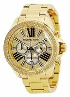 Michael Kors Women's MK6095 - Wren Gold Tone Watch