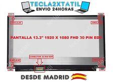 "PANTALLA PARA PORTATIL Sony VAIO SVF13N17PXB 13,3"" 1920X1080 FHD LED LCD 30 pin"