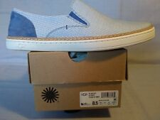 UGG Women's 1016895 New ADLEY STRIPE Slip-On Sneakers - With Box-US 8.5 - MNST