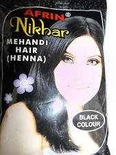 100% ORIGINAL AFRIN HINNA MEHANDI BLACK COLOR 15GM  EACH 5 PICES