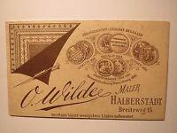 Halberstadt - Frau - Portrait / CDV Rückseite