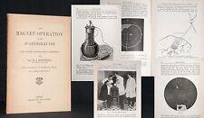 Hirschberg la magnetico-operazione nella occhi scienza medica 1899