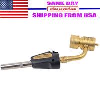 Gas Self Ignition Turbo Torch Brazing Soldering Propane Welding Plumbing gun US