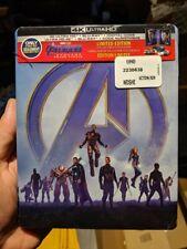 Avengers Endgame - Best Buy Exclusive Steelbook (Blu-ray + 4K UHD) BRAND NEW!!
