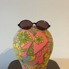 Vintage J Crew 1990s Mini Oval Sunglasses 64244-CR39