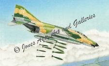 "F-4E Phantom II ""Phantom Going Downtown"" Limited Edition Prints by Willie Jones"