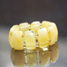 Natural baltic amber butterscotch ring polished Adjustable size