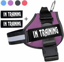 Large Dog Harness Soft Vest With SERVICE DOG Patches for Labrador shepher husky