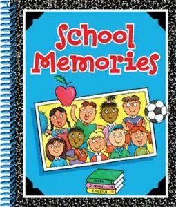 """Phoenix Internat E0 Boy Girl School Years Memories 8x10"""" preK-8gr Spiral Book"""