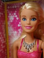 Barbie Doll Clothing Accessories Dress Shoes Necklace 2017 Mattel Gift Set NEW