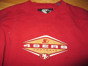 Starter SAN FRANCISCO 49ers Pro-Line (XL) Heavy Long Sleeve Shirt