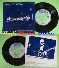 LP 45 7'' MARCO CARENA Buonanotte Blues delle mutande lunghe italy no cd mc dvd