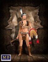 Masterbox 1:24 SCALE MODEL KIT - Thunder Spirit- Native American MAS24019