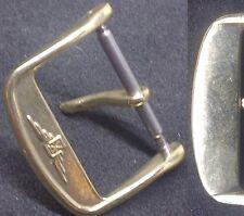 "Original Longines Buckle Fibbia ""bow"" 18mm inner Yellow GP Excellent L@@K !"