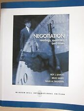 Negotiation Readings, Exercises, Cases by Saunders, Bruce Barry & Roy Lewicki