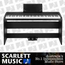 Korg B1-SP 88 Key Black Digital Piano w/3-Pedal Stand B1 SP B1SP - **BRAND NEW**