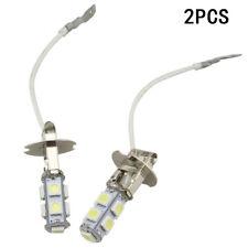 2X Hot H3 100W Super Bright LED White Fog Tail DRL Head Car Light Lamp Bulb Sale