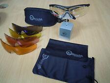 Sports glasses PRESCRIPTION INSERT  protective interchangeable lenses 5 colours