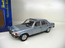 1:18 Revell mercedes 230e w123 plata azul Light Blue metallic nuevo New