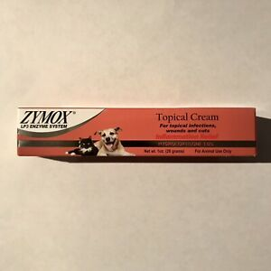 Zymox Topical Cream with Hydrocortisone, 1 oz
