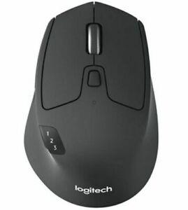 Logitech  M720  Wireless Optical Multi-Device Black Mouse