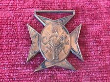 Early Pre WW2 Church Lads Brigade CLB copper Medal Fob h