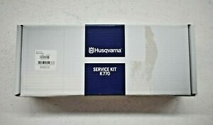 Husqvarna Service Kit K770 Cut Off Saw Belt Filter Tool Spark Plug Cord New