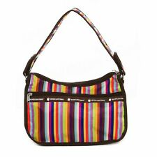 Casual Foldable Compact Shoulder Bag The Very Lovely Bag Co., Lots of Stripes
