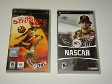 NASCAR + FIFA STREET 2 ~ Sony PSP ~ 2006 ~ BUNDLE ~ 2 HTF PSP GAMES
