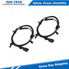 2PCS Front ABS Wheel Speed Sensor For 2005-2010 Ford F-250 F-350 Super Duty 4WD