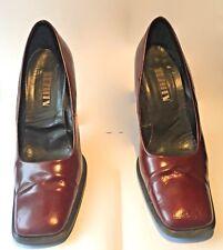 """""""LEZILLA"""" Chaussure dames, talons haut, bordeaux, vernis,, mode grande marque"""