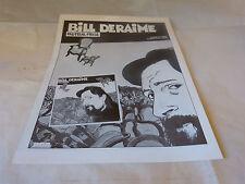 BILL DERAIME & TARDI - Publicité de magazine / Advert !!! FAUTEUIL PIEGE !!!