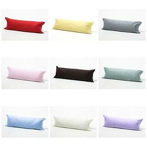 Luxury Orthopaedic Bolster Pillow Case Cover Nursing Pregnancy Long Pillowcases