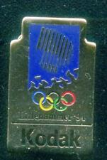 LILLEHAMMER 1994. OLYMPIC GAMES. OLYMPIC PIN. SPONSOR PIN. KODAK