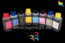 8x 100 Tinte Ink for Canon Pixma Pro 100 S 100S CLI-42 Bk CYM PC PM GY LGY CLI42