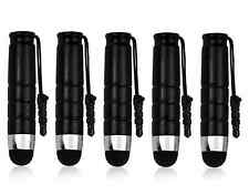 10x NERO Touchpen TOUCH PENNA PENNINO SMARTPHONE TABLET IPHONE SAMSUNG z1