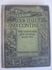 Our State and Continent by Atwood & Thomas 1929 Vintage New York State Textbook