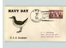 U.S.S. SANDPIPER, Navy Day in 1939, Guantanamo Bay